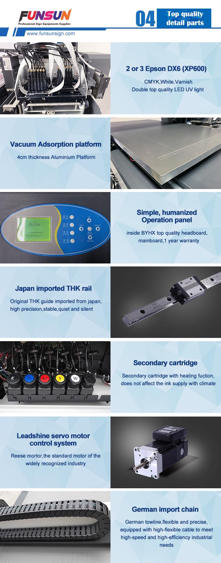 2019 新製品 A1 サイズの uv プリンター 9060uv フラットベッドペン/木材/ガラス/金属/tシャツ印刷機の価格