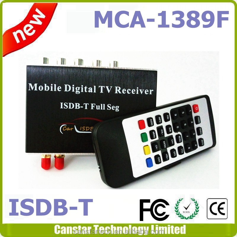 stock ISDBT set top box car isdb-t tv tuner receiver box