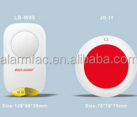 Indoor alarm with siren and flashing light LB-W09 JD-11
