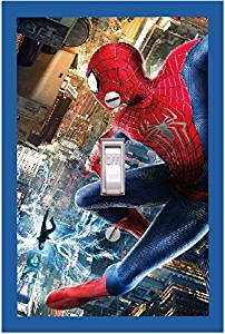 SPIDERMAN - Light switch Cover- SPIDER MAN- Switch Plate Cover