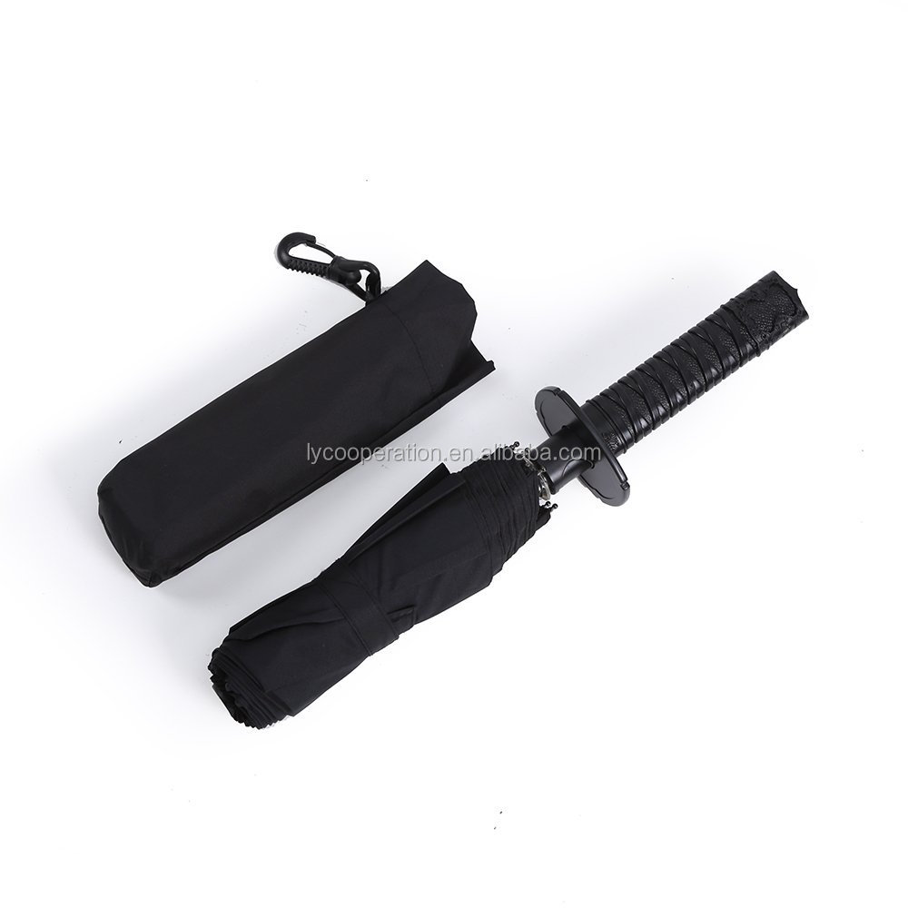 Mini Samurai Sword Umbrella,Auto Open Close Umbrella