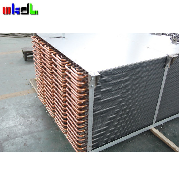 widely use R22 dehumidifier evaporator copper tube aluminum fin
