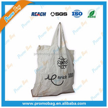 Foldable Cotton Bag Closed to Jute Zipper Pocket