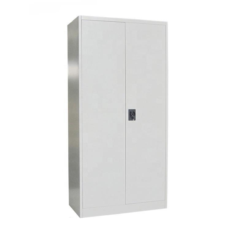 Alto due porte grigio chiaro di seconda mano 5 strati di stoccaggio in acciaio armadio/file cabinet in metallo per ufficio filippine