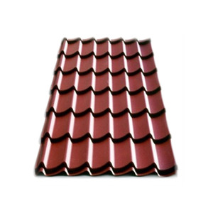 Colorful roof tile rapid construction sheet metal building materials