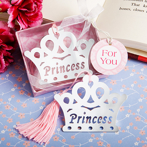 Princess Crown Bookmark Nikmat Hadiah Pernikahan Kembali