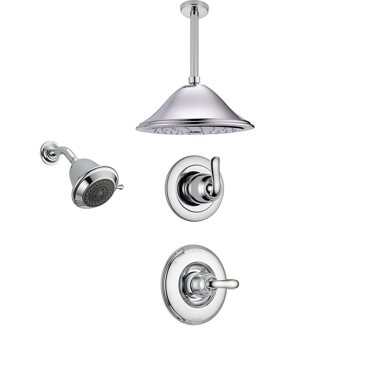 Buy Delta Linden Chrome Shower System With Normal Shower