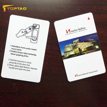 ISO14443A 13.56MHz Compatible Ving Hotel Key Card