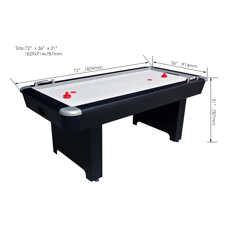 SZX 6FT Standard 4 person air hockey table for sale