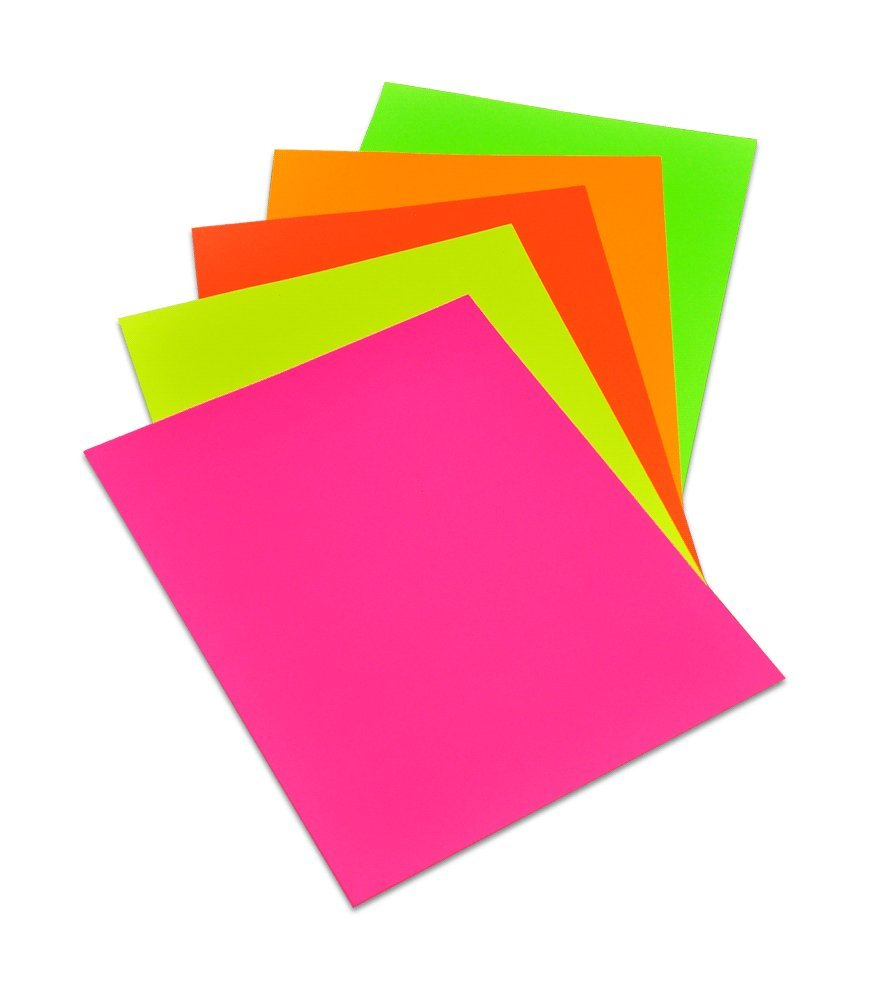 Poster board colors
