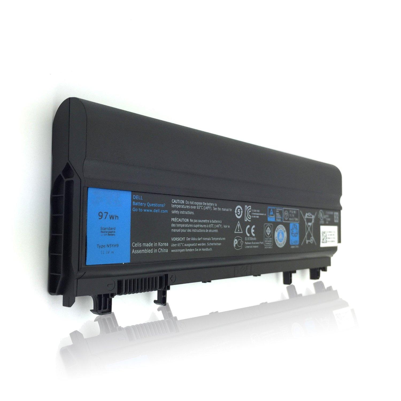 T-Quick® 11.1V 97Wh New Laptop N5YH9 Battery for Dell Latitude E5540 E5440, Replace for 312-1351 VJXMC VVONF N5YH9 0M7T5F 0K8HC 1N9C0 7W6K0 VV0NF F49WX NVWGM CXF66 WGCW6