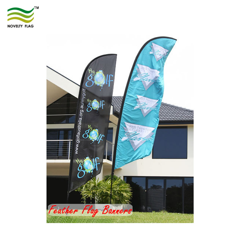 Custom Feather Flag Feather Banner Flag Pole