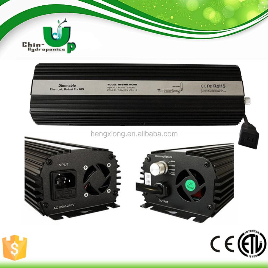 Grow Light 1000 Watt Ballast Electronic,Hydroponics Electronic ...