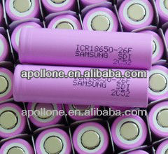 Hot sale ICR18650-26F lithium <strong>battery</strong> 18650 3.7V 2600mah e cig <strong>battery</strong>
