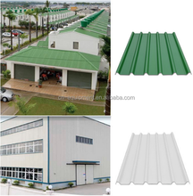 2017 best quality low price Wave shape plastic roofing sheet for shed