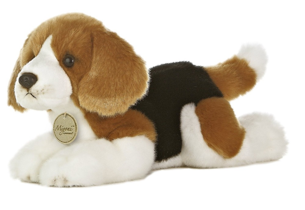 Plush puppy stuffed with pp cotton