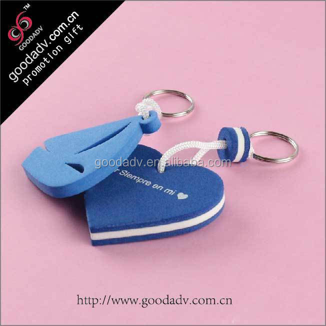 Advertising Specialty Factory sell----price cheap eva foam keychain