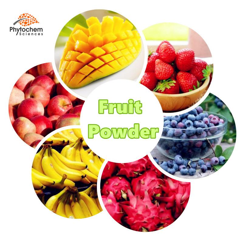 Sapore delizioso organico spray liofilizzato istantaneo succo di frutta in polvere