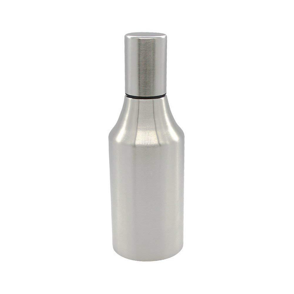 500/750/1000ml Cruet Oil Dispenser, Yvonne Stainless Steel Vinegar Oil Olive Dispenser Bottle Pot Large Capacity Leakproof Dust-proof Kitchen Healthy Gravy Boat (1000ml)