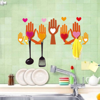 Removable Decorative Kitchen Wall Tile Stickers With Hanger Buy