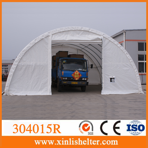 Outdoor shelter tarp buildings for storage