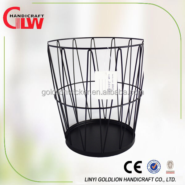 Wholesale iron wire vegetable baskets decorations basket baby gift basket