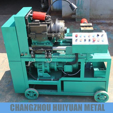 Automatic steel bar threading machine
