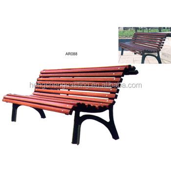 Antique Cast Iron Wooden Slats Bench Legs Outdoor Garden