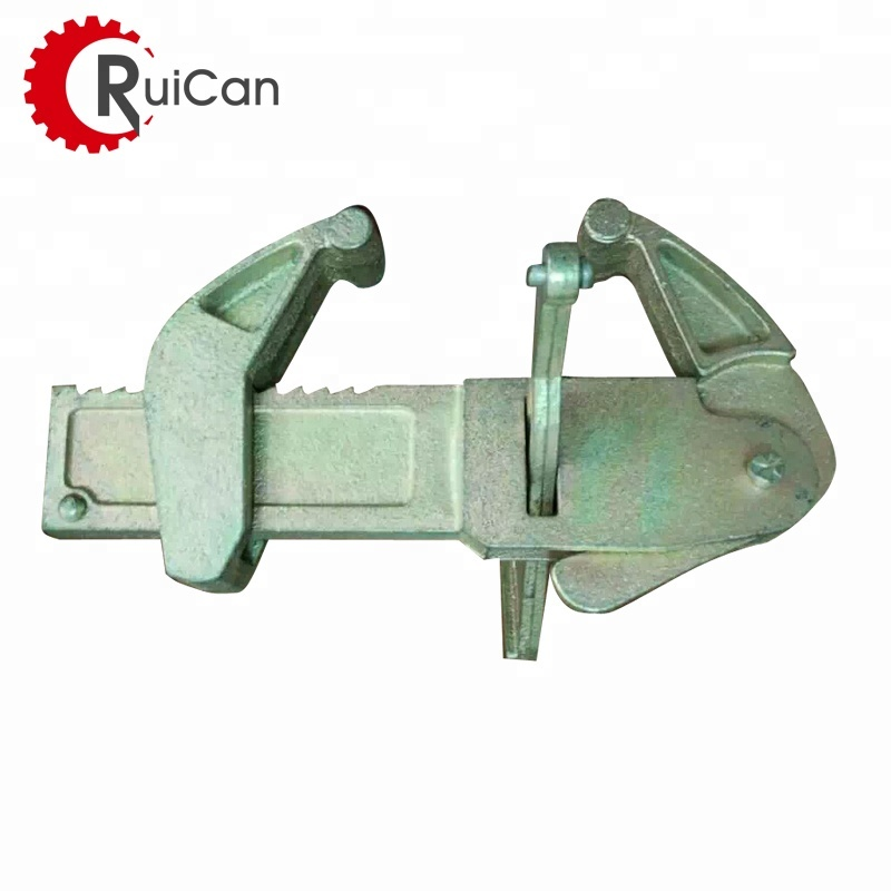 OEM customized GGG400-15 scaffolding ringlock clamps tube with machining sand casting