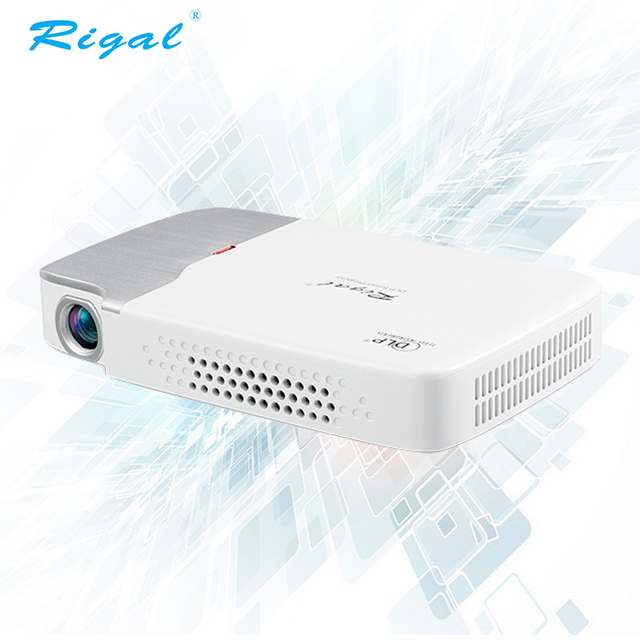 f4533f00ec60c7 Home theater business use DLP portable handheld pocket projector wifi 3D mini  projector with ROHS FCC