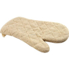 Custom Kitchen Heat Resistant Household Natural Color Thick Terry Cloth Oven Mitt