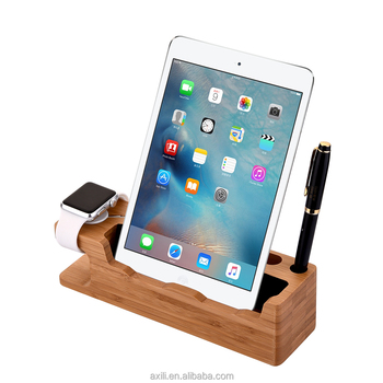 Universal White Mobile Phone Stand Flexible Desk Holder For Ipad Tablet