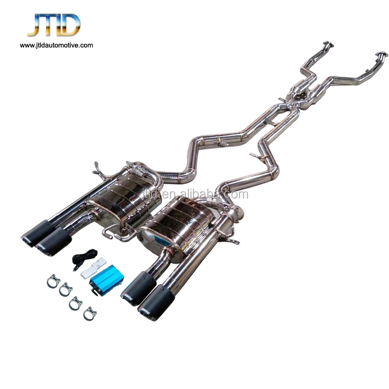 factory price performance exhaust system Exhaust catback with remote control For bmw e92 M3
