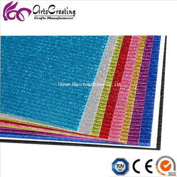 2017 customized glitter coloured corrugated cardboard/paper/sheet/roll for DIY and wrapping.