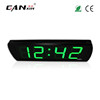 [GANXIN]2018 Green 4 Inch 4 Digits Popular Hot Selling Digital Led Clock Wall Mounted