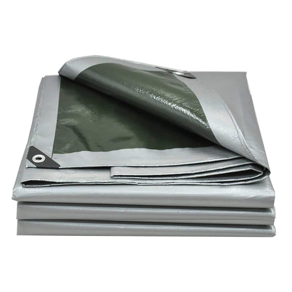 Rainproof cloth tarpaulin padded rainproof cloth cloth Sun cloth cloth sunshade cloth plastic cloth rainproof cloth (Size : 44m)