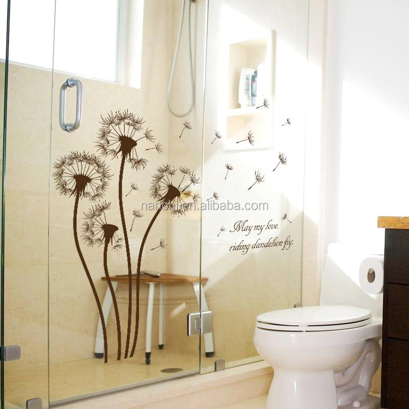 Le n fiying sala decoraci n calcoman as flores y plantas for Calcomanias para dormitorios