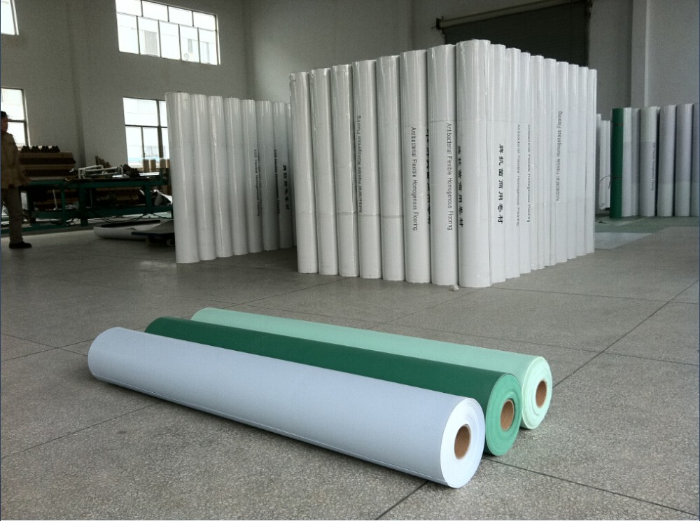 Conductive Flooring Product : Electro static dissipative solid vinyl conductive floor