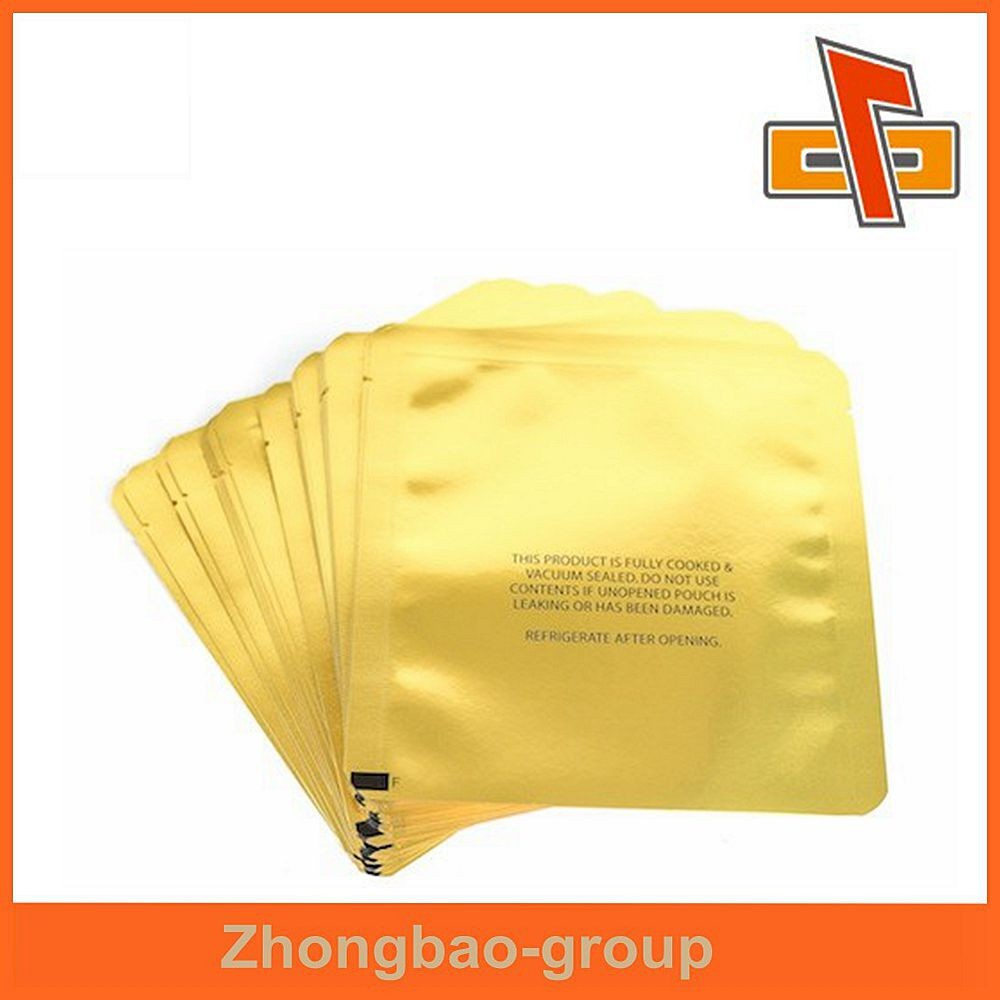 China manufacture high quality fashion popular foil sachet , printed aluminum foil bag for facial mask <strong>packing</strong>