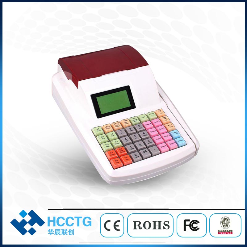 Thermal Paper POS System Electronic Cash Register Machine ECR2200A