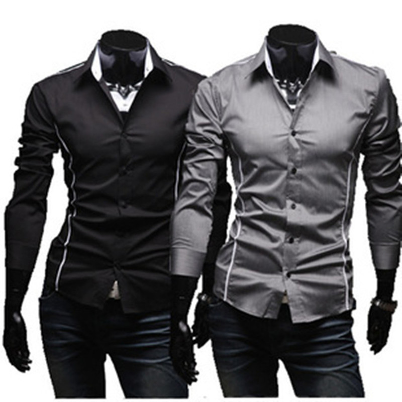 Men Shirts Hot Sale Men S Casual Shirts High Quality Men Slim Fit Clothes Mens Shirts