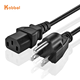 Wholesale USA US AC Power Cord 3 Prong American IEC C13 Supply Lead Extension Cable 1.2m