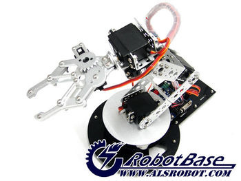 AS-6 DOF aluminium robotic arm educational robot with Electric Controller Robot contest recommendation