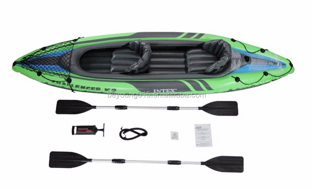 Intex excursion 5 person inflatable fishing raft boat sale for Wood floor intex excursion 5