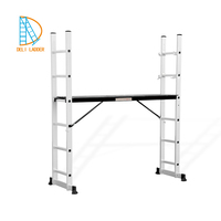 ladders and scaffoldings, better price scaffold aluminum, 2*6 steps aluminum folding scaffold