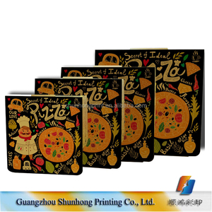"Alibaba manufacturer 24"" personalized pizza box, pizza cone box with customized size"
