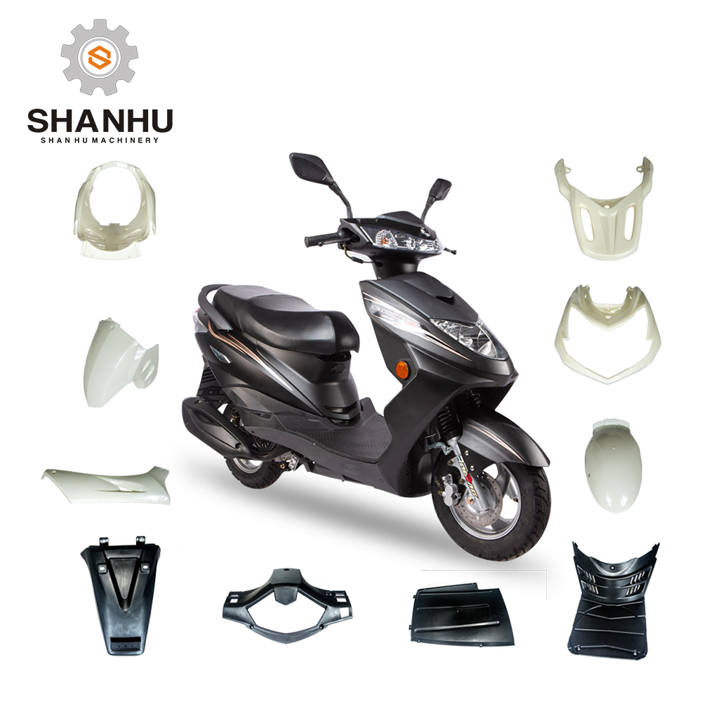Electric Motorcycle And Scooter Moped Plastic Accessories Side Covers Front  Fender Mudguards Headlight Cover For Motorcycle Oem - Buy Scooter Moped