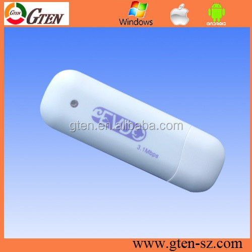 Real factory supply OEM UNLOCK 3.1Mbps dongle free download cdma 1x usb wireless modem