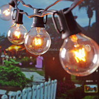 top sale Patio Lights G40 Globe Party Christmas Dancing String Landscape Lights Indoor Outdoor Lighting for Holiday