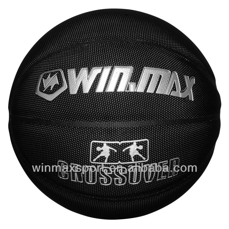 Professional black color official size 7 CPU basketball ,practice /match /competition /sport basketball balls,custom basketball